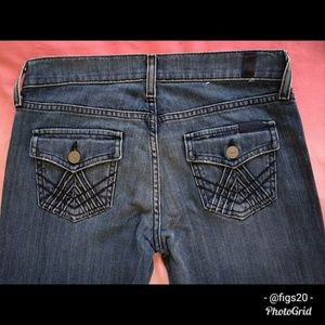 7FAM Bootcut A-Pocket Jeans